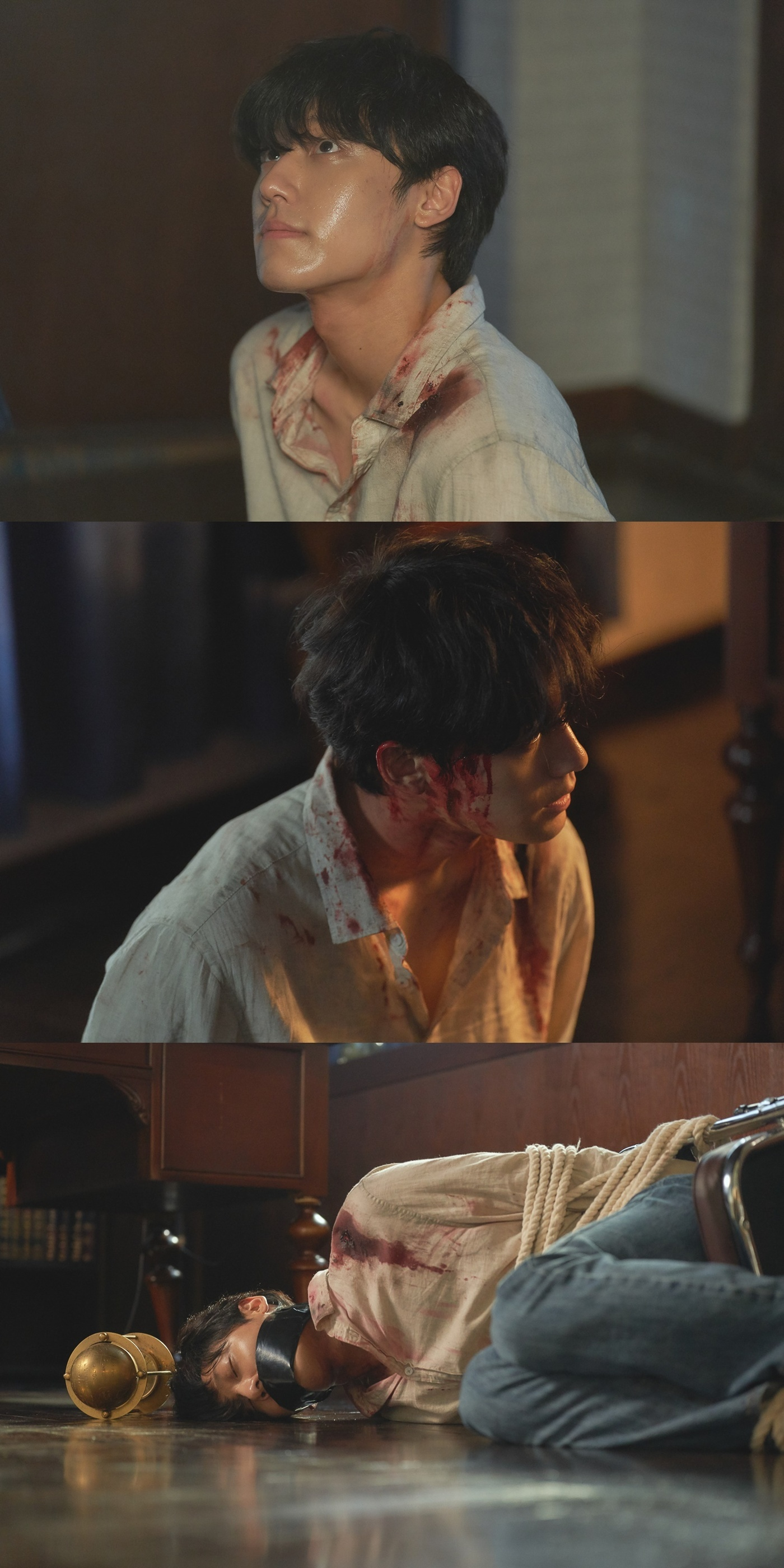 N컷] '오월의 청춘' 피 칠갑한 이도현, 절체절명 위기 순간 포착 | 네이트 연예